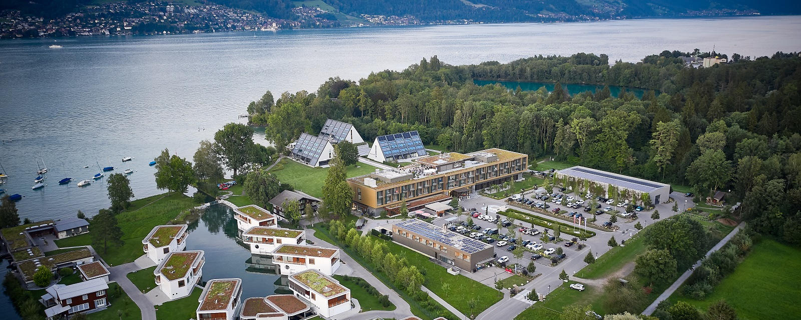 Das Deltapark Resort am Thunersee